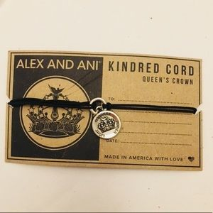 Alex and Ani Queen's Crown Kindred Cord Bracelet